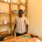 Mamadou Mady DEMBELE, promoteur de l'entreprise « Cabinet d'insémination artificielle animale » sis à Niamana.